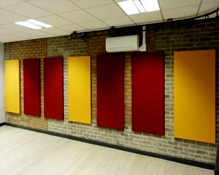 Kumaş Kaplı Duvar Panel Uygulaması