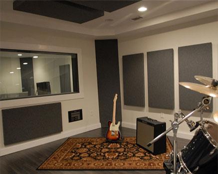 Duvar kumaş kaplı panel ses izolasyonu