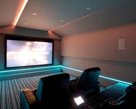 Ev Sinema Salonu Akustik Ses Yalıtımı