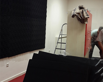 Akustik Labirent Sünger Uygulaması