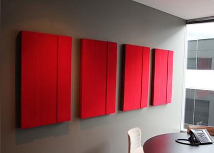 Kumaş kaplı duvar paneli