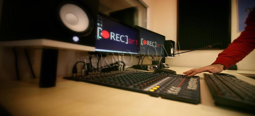 Akustik Spesiyal Sünger Stüdyo Ses Yalıtım Uygulaması