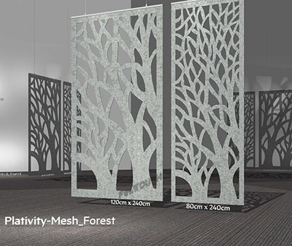 Akustik Mesh Panel