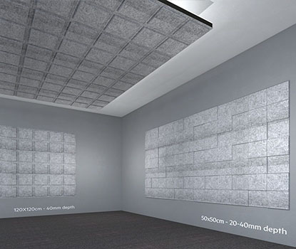 Dekoratif Akustik Duvar Paneli