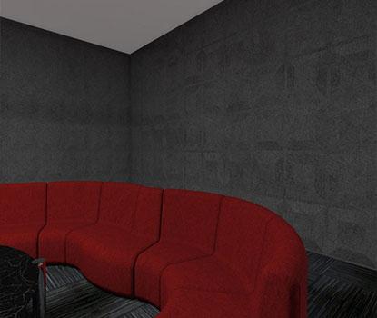 Plain Akustik Duvar Paneli