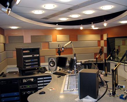 Radyo Odası Akustik Panel Uygulaması