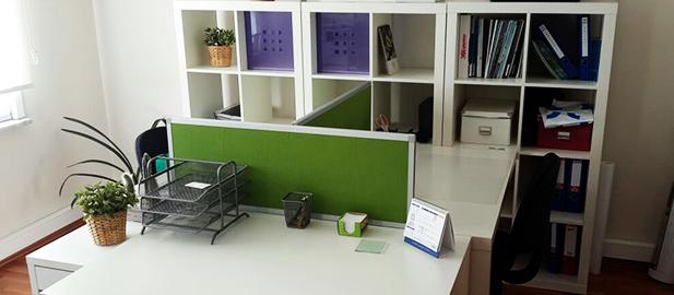 Ataşehir Green Tech Ofis Masa Bölücü Seperatör Uygulaması