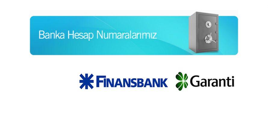 Banka Hesap Bilgileri