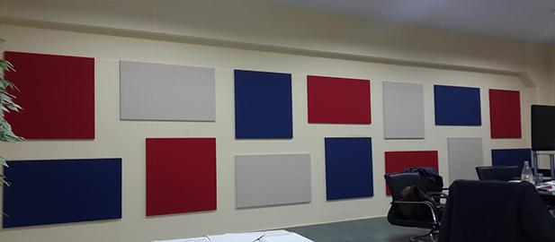 Akustik Duvar Ses Yalıtımı ve Kumaş Kaplı Panel Uygulaması