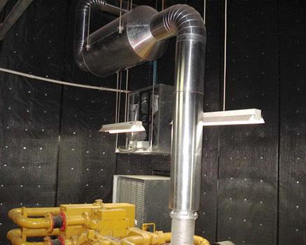 Jeneratör odası ses izolasyonu
