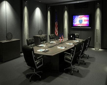 Konferans salonu akustik ses düzenleme