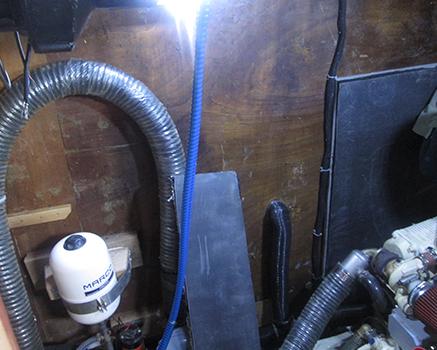 Tekne motoru ses izolasyonu