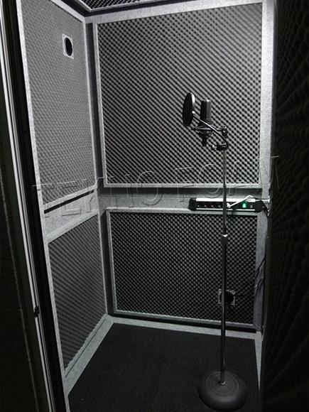 Akustik Kabinler Ses Yalıtımlı