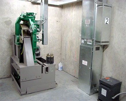 Asansör odası ses yalıtım uygulaması