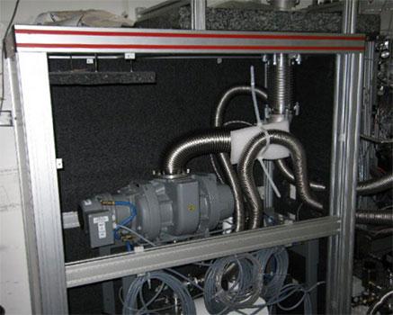 Hidrofor odası ses yalıtım uygulaması