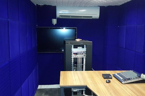 İbb Trafik Kontrol Merkezi Akustik Sünger Ses Yalıtımı