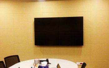 Microsoft Ankara Toplantı Odası Akustik Kumaş Panel Uygulaması