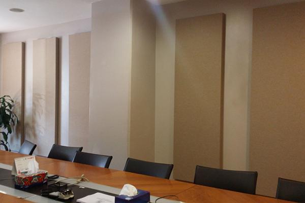 Kumaş Kaplı Panel Duvar Ses Yalıtımı
