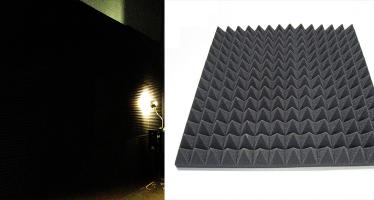 Konya MMF Mühendislik Stüdyo Odası | Akustik Piramit Sünger Uygulaması