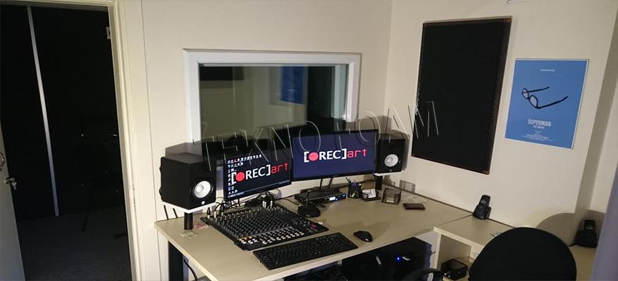 Rec Art Antalya Akustik Spesiyal Sünger Stüdyo Ses Yalıtım Uygulaması1