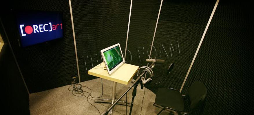 Ses Kayıt Odaları Akustik Sünger Uygulamaları
