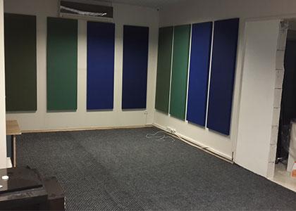 Akustik Halı uygulaması