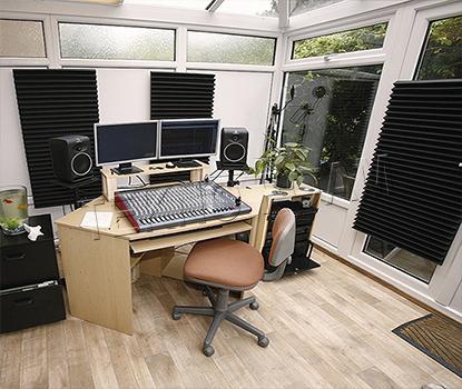 Akustik Zigzag Ses Yalıtım Süngeri