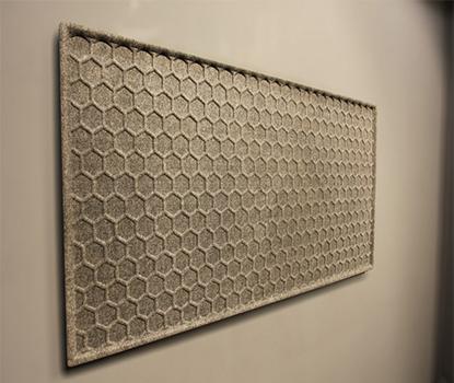 Honeycomb Akustik Duvar Paneli
