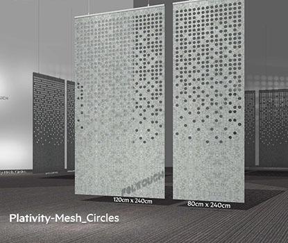 Ses Emici Mesh Akustik Panel