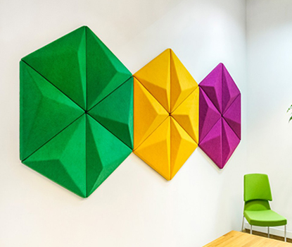 Akustik Dekoratif Panel