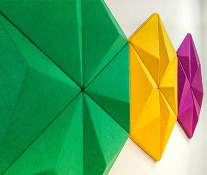 Rhino Triangle Akustik Duvar Paneli