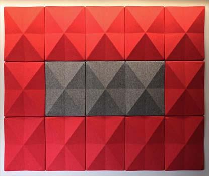 Rhino Square Akustik Duvar Paneli