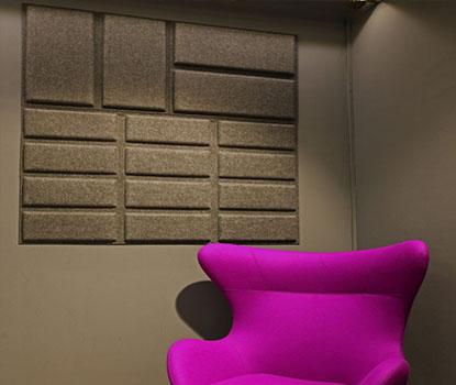 Dekoratif Ses Yalıtım Panelleri