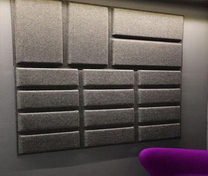 Waffle Akustik Duvar Paneli