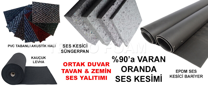 Erzurum Akustik Ses İzolasyon Yalıtım Malzemeleri Fiyatları